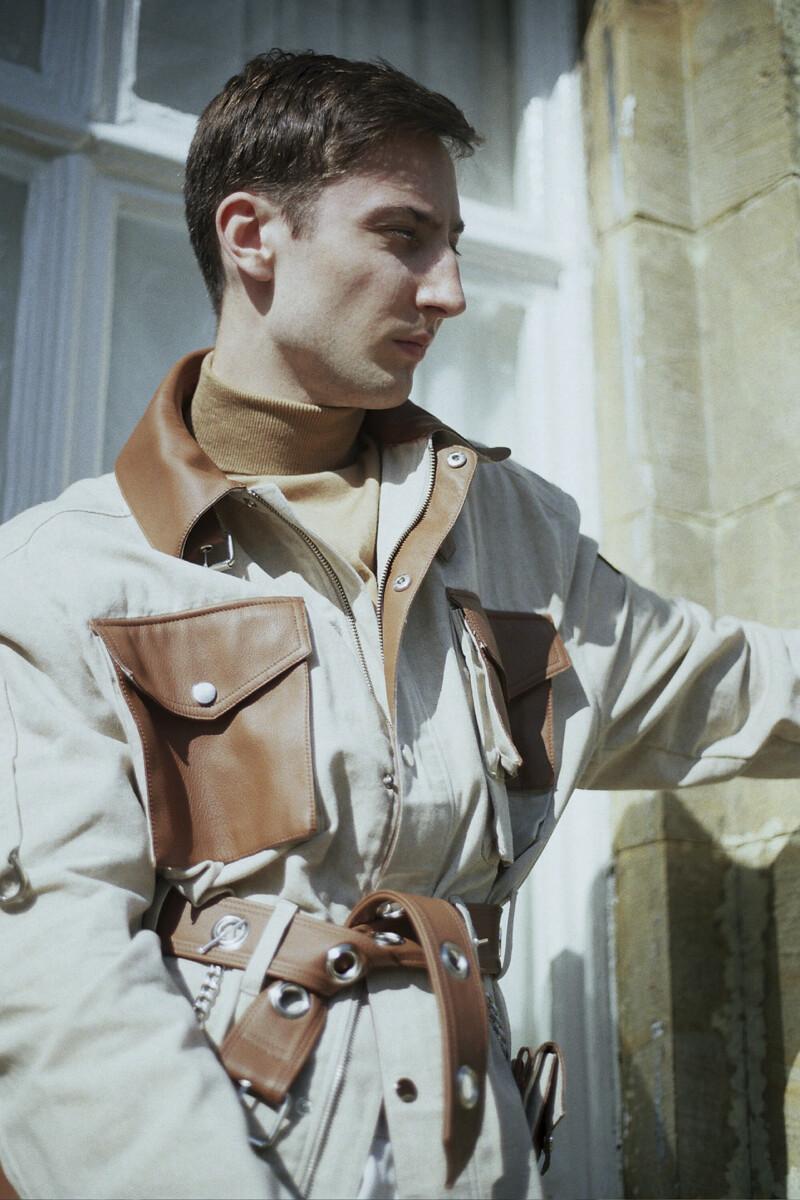 Menswear concept jacket
