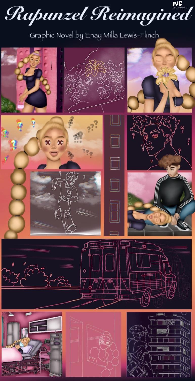 Rapunzel Reimagined Concept Board